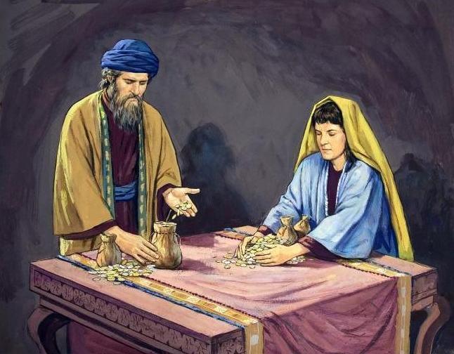 Que penser du cas Ananias et Saphira ?