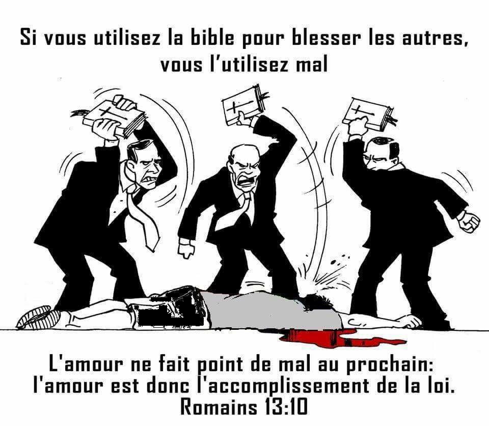 Les prophètes de malheurs et les églises poubelles