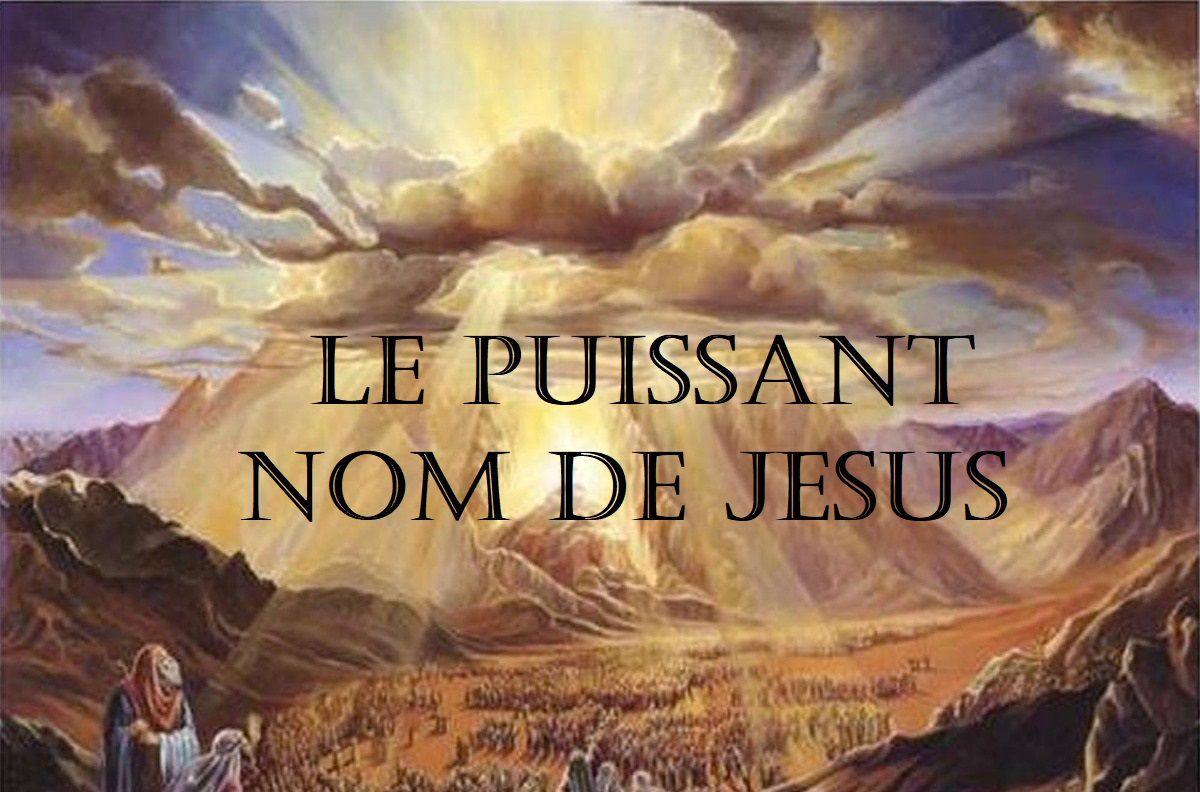 Le puissant Nom de JESUS